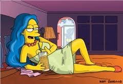 cartoni porno immagini Simpson