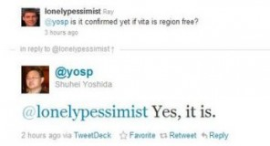 PSVITA : Regionfree confermato
