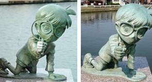 Furto in Giappone : Detective Conan derubato!