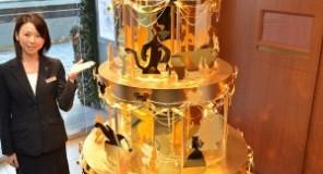 Tokyo : Un albero d'oro da Walt Disney!