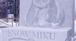 Miku Hatsune : Una scultura per la cantante virtuale!