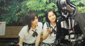 Darth Vader in vacanza sulle isole di Okinawa