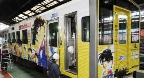 Giappone: Arriva il treno di Detective Conan