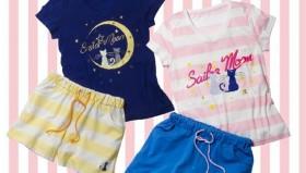 Mutandine e pigiami per i 20 anni di Sailor Moon