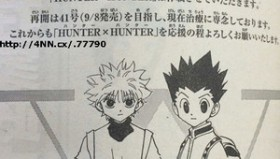 Hunter X Hunter : Manga in Pausa e Anime in Conclusione