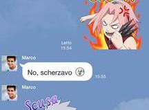 LINE lancia gli sticker di Naruto