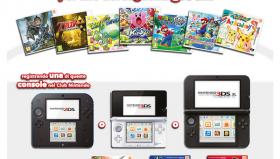 Nintendo – Promozione Un gioco per Nintendo 3DS in regalo