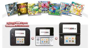 Nintendo - Promozione Un gioco per Nintendo 3DS in regalo