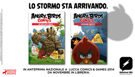 Lucca Comics: Edizioni BD presenta ANGRY BIRDS COMICS