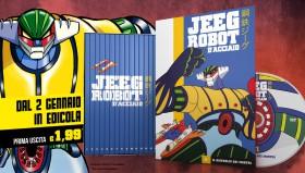 Jeeg Robot approda in Edicola con la collezione di DVD