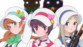 Yuri Kuma Arashi in simulcast su Crunchyroll