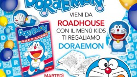 Roadhouse ti regala DORAEMON