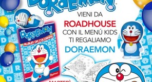 Roadhouse ti regala DORAEMON