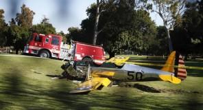 Harrison Ford si schianta con l'aereo, in gravi condizioni