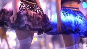 Gonna Hikaru: Festa di luci per le gambe delle donne