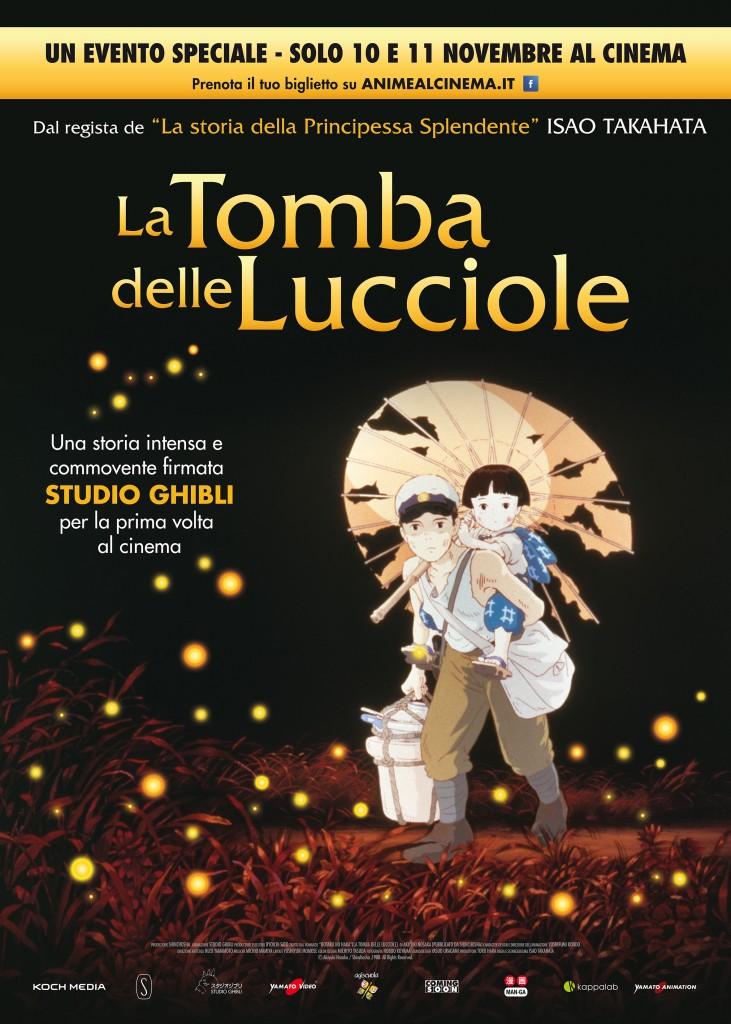 La Tomba delle Lucciole - poster ITA