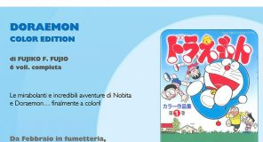 Doraemon torna in Fumetteria con la Color Edition