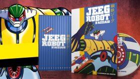 Jeeg Robot d'Acciaio torna in Edicola con i DVD