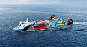DC Comics porta Batman e Joker sulle navi da crociera