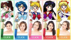 Giappone: Arrivano i rossetti delle guerriere Sailor
