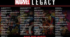 Marvel Legacy: Si torna alla numerazione originale