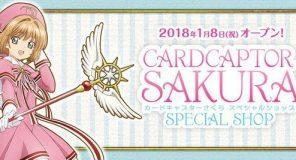 Giappone: 39 negozi a tema Card Captor Sakura aprono i battenti a Gennaio 2018
