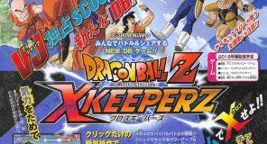 Annunciato Dragon Ball Z X Keeperz in esclusiva PC