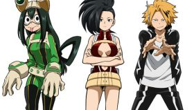 TSUYU,DENKI E MOMO si uniscono al roster di MY HERO GAME PROJECT!