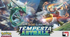 Pokémon Sole e Luna - Tempesta Astrale esce oggi!