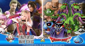 Square Enix annuncia una collaborazione tra DRAGON QUEST e FINAL FANTASY BRAVE EXVIUS