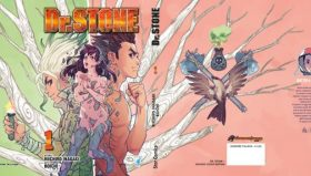 D.R STONE N.1 in VARIANT COVER EDITION e LIMITED EDITION