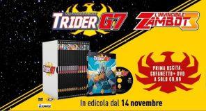 Trider G7 e Zambot 3: I DVD arrivano in Edicola