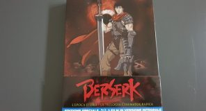 Berserk: La trilogia cinematografica in Bluray di Kochmedia