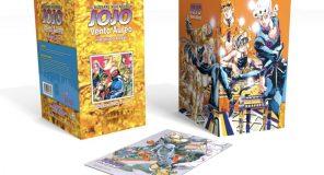 Jojo Vento Aureo: Box inedito dei primi 4 volumi della serie a fumetti