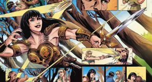 XENA: Nuova serie a fumetti per la principessa guerriera
