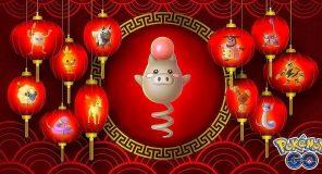 Pokèmon GO celebra l'anno del maiale