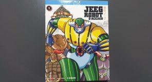 Jeeg Robot D'Acciaio: Il primo cofanetto della Serie Completa in Bluray distribuita da Anime Factory e Kochmedia
