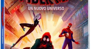 SPIDER-MAN - UN NUOVO UNIVERSO disponibile da domani in DVD, BLU-RAY, BLU-RAY 3D, 4K ULTRA HD E DIGITAL HD