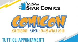 Edizioni Star Comics: Tutti gli eventi del Comicon 2019