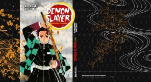 Demon Slayer Kimetsu no Yaiba: Speciale sovraccoperta celebrativa in regalo con il primo volume