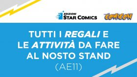 Star Comics: Premi e Omaggi del Comicon 2019