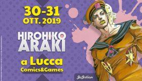 Hirohiko Araki ospite a Lucca Comics & Games 2019