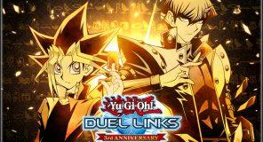 YU-GI-OH! DUEL LINKS celebra il terzo anniversario con dei regali
