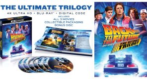 BACK TO THE FUTURE: THE ULTIMATE TRILOGY per la prima volta in 4k UHD