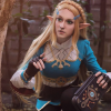 MissFlamingo nei panni della principessa Zelda