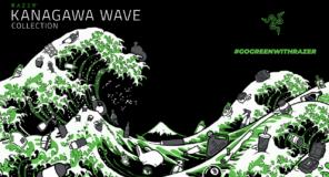 RAZER annuncia la collezione di abbigliamento KANAGAWA WAVE in plastica marina