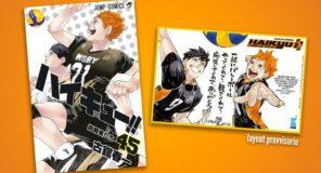 HAIKYU:Mini Shikishi in regalo con l'ultimo numero