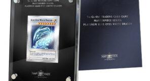 Yu-Gi-Oh! GIOCO DI CARTE COLLEZIONABILI: vinci un'edizione limitata, ultra-speciale della carta Platinum Drago Bianco Occhi Blu